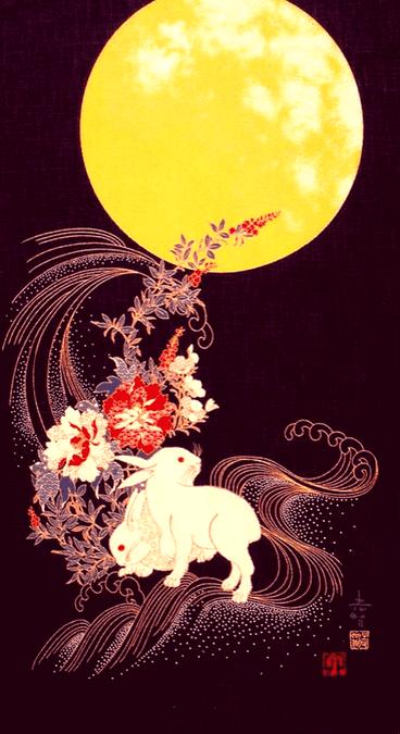 El conejo y la luna